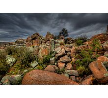 Rock Bunch Photographic Print