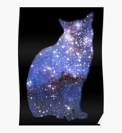 Zoomin' Zafira the magical cat Poster