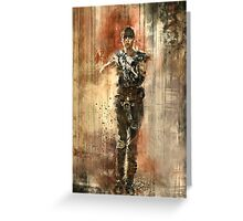 Imperator Furiosa Greeting Card