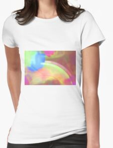 ray of colour Womens Fitted T-Shirt