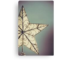 Holiday Star Canvas Print