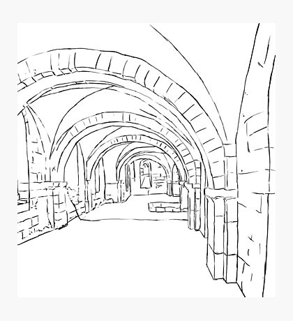 Winchester Vaults Photographic Print