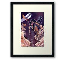 Bat Family Framed Print