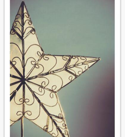 Holiday Star Sticker