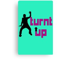 Turnt up geek funny nerd Canvas Print