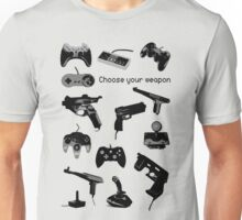 Game Gears (choose your weapon) Unisex T-Shirt