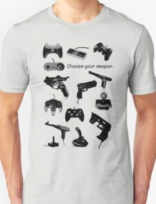 Game Gears (choose your weapon) T-Shirt