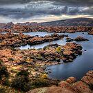 Watson Lake-Long View by Bob Larson