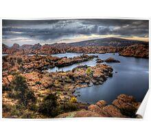 Watson Lake-Long View Poster