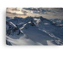 Winter on Kitzsteinhorn 96 Canvas Print