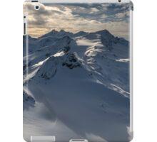 Winter on Kitzsteinhorn 96 iPad Case/Skin