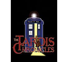 THE TARDIS CHRONICLES  Photographic Print