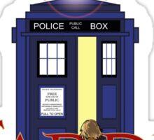 THE TARDIS CHRONICLES  Sticker