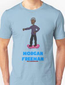Morgan Freeman On A Hoverboard Unisex T-Shirt