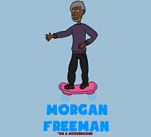Morgan Freeman On A Hoverboard Unisex T-Shirt