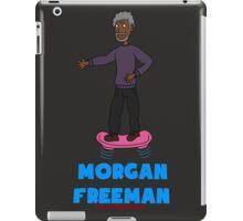 Morgan Freeman On A Hoverboard iPad Case/Skin