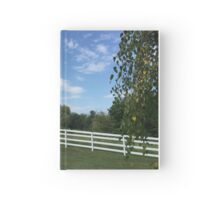 Sky Fence Hardcover Journal
