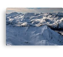 Winter on Kitzsteinhorn 97 Canvas Print
