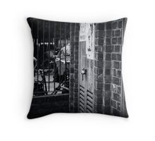 sub-station gallery Throw Pillow