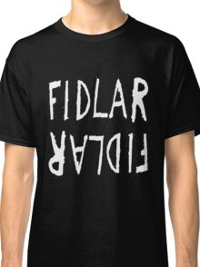 FIDLAR logo black Classic T-Shirt