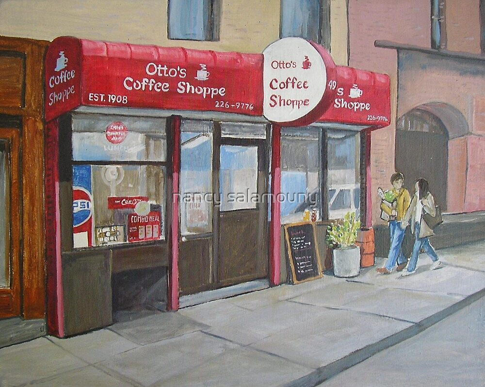 Otto's Shoppe, New York by nancy salamouny