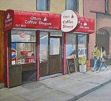 Otto's Shoppe, New York by nancy salamouny