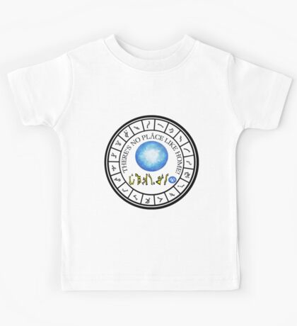 Stargate: Wormhole Dialing Ring Kids Tee