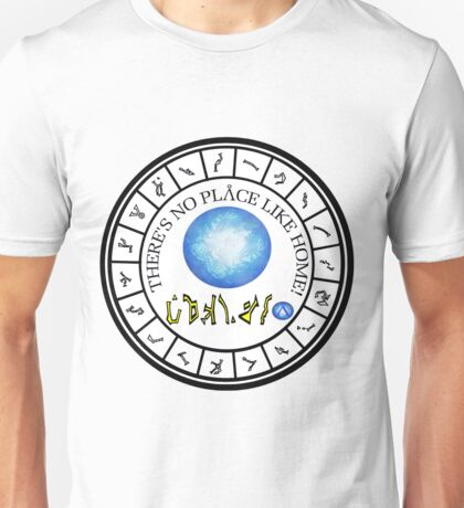 Stargate: Wormhole Dialing Ring Unisex T-Shirt