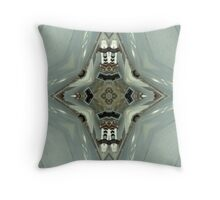 Washed , Marble Throw Pillow