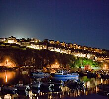 Mevagissey by night by Tizimagen