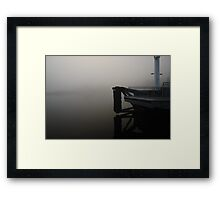 Waiting for the Ferry ... Framed Print