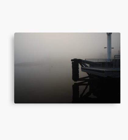 Waiting for the Ferry ... Canvas Print