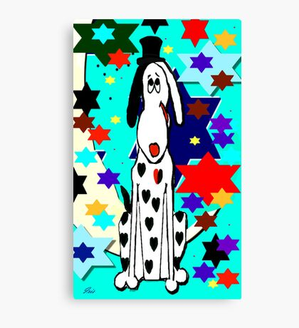 The party animal Canvas Print