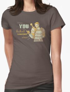Alistair- Have you ever licked a lamppost in winter? Womens Fitted T-Shirt