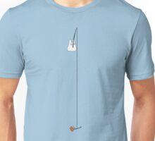 Small White Totoro Fishing - Long Line Unisex T-Shirt