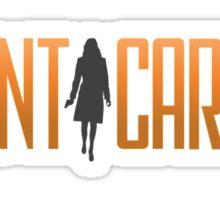 Agent carter Sticker