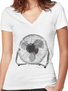 Your Biggest Fan, 2010 Women's Fitted V-Neck T-Shirt