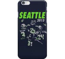 Seattle Seahawks 2015 iPhone Case/Skin