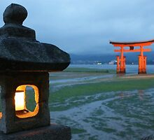 Miyajima Island Lanterns by scoobysue7