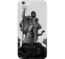 Rome - Fountain of Neptune iPhone Case/Skin