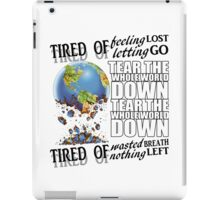 Failure Lyrics iPad Case/Skin