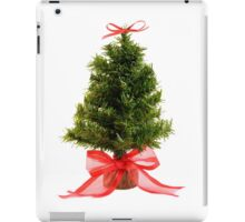 Christmas Tree & Red Bow iPad Case/Skin