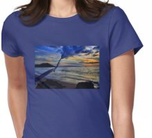 Sunset On Makena Bay Womens Fitted T-Shirt