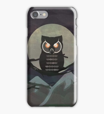 the owls are not what they seem... iPhone Case/Skin