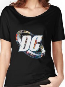 DC Comic Women's Relaxed Fit T-Shirt