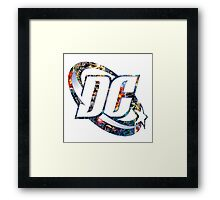 DC Comic Framed Print