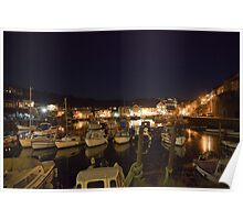 Mevagissey by Night Poster