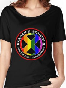 X Men Logo Women's Relaxed Fit T-Shirt