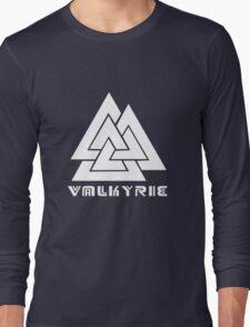 Valkyrie geek funny nerd Long Sleeve T-Shirt