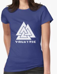 Valkyrie geek funny nerd Womens Fitted T-Shirt